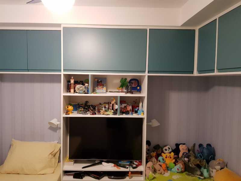 8 - QUARTO 1. - Apartamento Grajaú,Rio de Janeiro,RJ À Venda,2 Quartos,104m² - MEAP20973 - 9