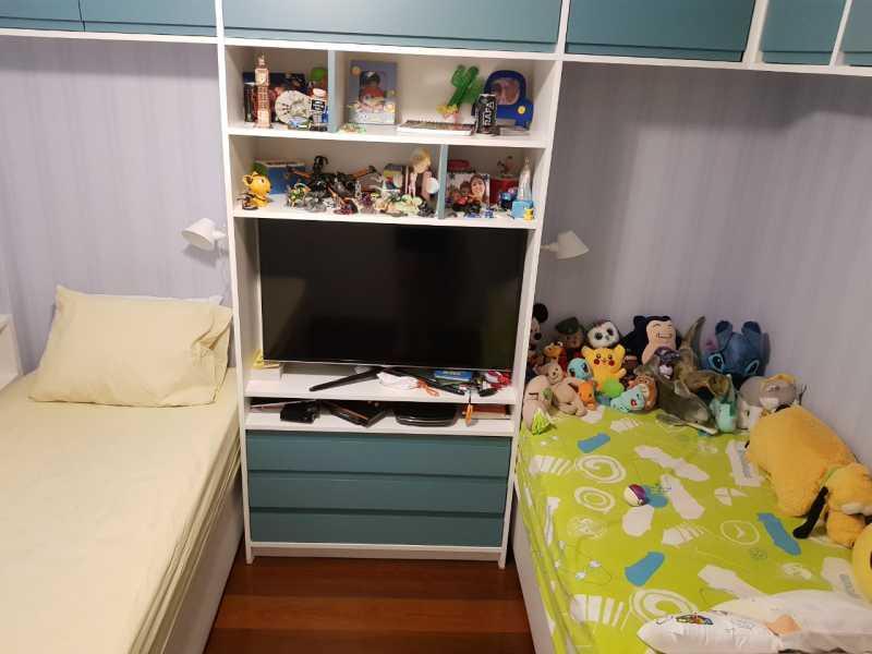 9 - QUARTO 1. - Apartamento Grajaú,Rio de Janeiro,RJ À Venda,2 Quartos,104m² - MEAP20973 - 10