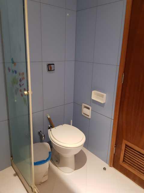 14 - BANHEIRO SOCIAL. - Apartamento Grajaú,Rio de Janeiro,RJ À Venda,2 Quartos,104m² - MEAP20973 - 15