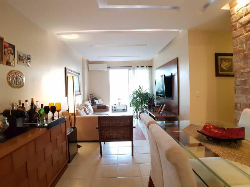 3 - SALA. - Apartamento Recreio dos Bandeirantes,Rio de Janeiro,RJ À Venda,3 Quartos,98m² - FRAP30602 - 5
