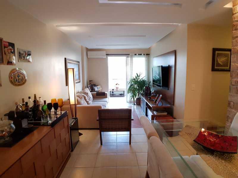 4 - SALA. - Apartamento Recreio dos Bandeirantes,Rio de Janeiro,RJ À Venda,3 Quartos,98m² - FRAP30602 - 6