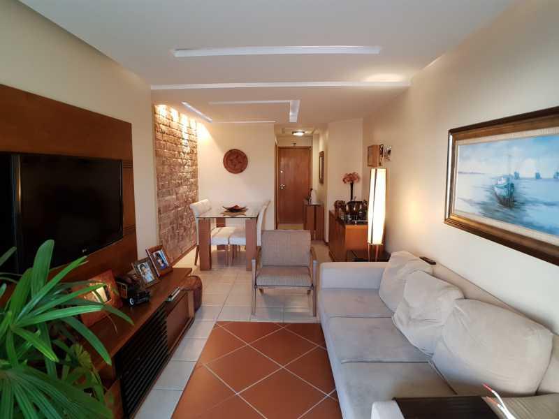 5 - SALA. - Apartamento Recreio dos Bandeirantes,Rio de Janeiro,RJ À Venda,3 Quartos,98m² - FRAP30602 - 4