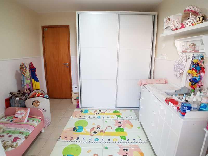 6 - QUARTO 1. - Apartamento Recreio dos Bandeirantes,Rio de Janeiro,RJ À Venda,3 Quartos,98m² - FRAP30602 - 7