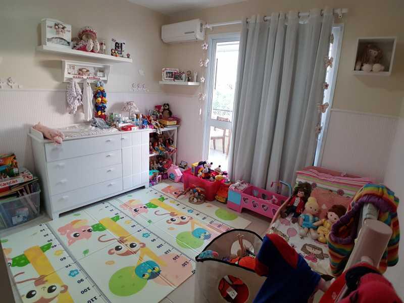 7 - QUARTO 1. - Apartamento Recreio dos Bandeirantes,Rio de Janeiro,RJ À Venda,3 Quartos,98m² - FRAP30602 - 8