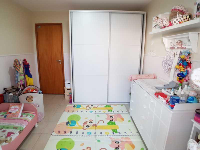 8 - QUARTO 1. - Apartamento Recreio dos Bandeirantes,Rio de Janeiro,RJ À Venda,3 Quartos,98m² - FRAP30602 - 9