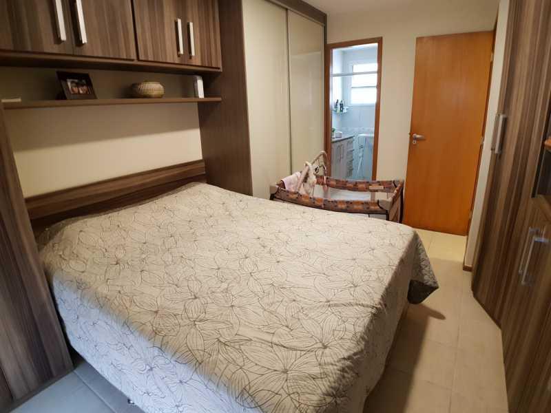 11 - QUARTO SUÍTE. - Apartamento Recreio dos Bandeirantes,Rio de Janeiro,RJ À Venda,3 Quartos,98m² - FRAP30602 - 12