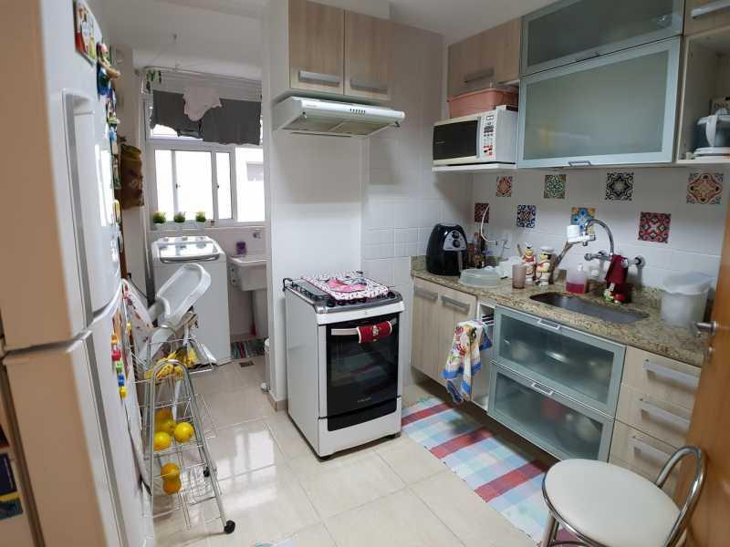 17 - COZINHA. - Apartamento Recreio dos Bandeirantes,Rio de Janeiro,RJ À Venda,3 Quartos,98m² - FRAP30602 - 18