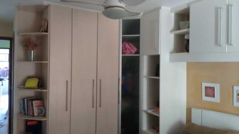 1 Quarto Suite. - Casa em Condomínio 3 quartos à venda Pechincha, Rio de Janeiro - R$ 530.000 - FRCN30172 - 9
