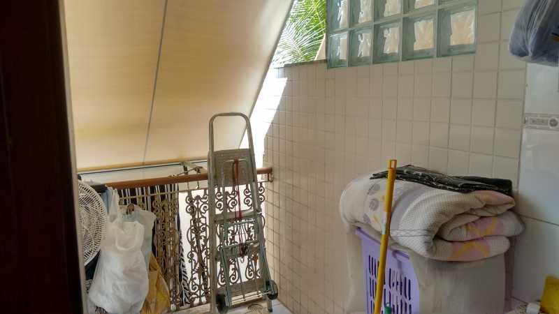 Area de Serviço 2. - Casa em Condomínio 3 quartos à venda Pechincha, Rio de Janeiro - R$ 530.000 - FRCN30172 - 21