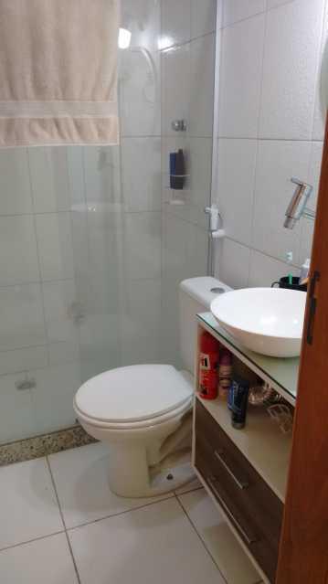 Banheiro no Terraço 1. - Casa em Condomínio 3 quartos à venda Pechincha, Rio de Janeiro - R$ 530.000 - FRCN30172 - 13