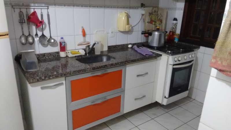 Cozinha 1. - Casa em Condomínio 3 quartos à venda Pechincha, Rio de Janeiro - R$ 530.000 - FRCN30172 - 14