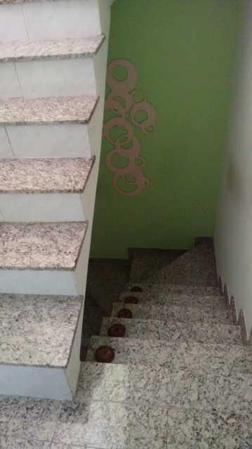 Escadas. - Casa em Condomínio 3 quartos à venda Pechincha, Rio de Janeiro - R$ 530.000 - FRCN30172 - 22
