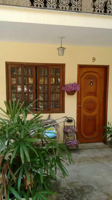 Frente da Casa 1. - Casa em Condomínio 3 quartos à venda Pechincha, Rio de Janeiro - R$ 530.000 - FRCN30172 - 1