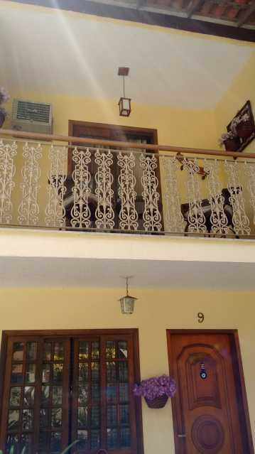 Frente da Casa 21. - Casa em Condomínio 3 quartos à venda Pechincha, Rio de Janeiro - R$ 530.000 - FRCN30172 - 3