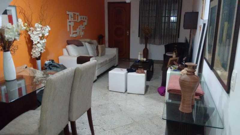 Sala 1. - Casa em Condomínio 3 quartos à venda Pechincha, Rio de Janeiro - R$ 530.000 - FRCN30172 - 6