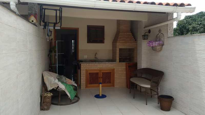 Terraço 1. - Casa em Condomínio 3 quartos à venda Pechincha, Rio de Janeiro - R$ 530.000 - FRCN30172 - 23