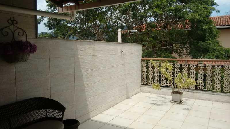 Terraço 2. - Casa em Condomínio 3 quartos à venda Pechincha, Rio de Janeiro - R$ 530.000 - FRCN30172 - 24