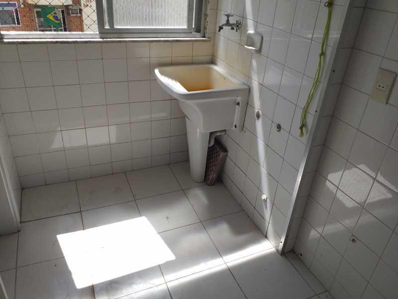 16 - ÁREA DE SERVIÇO - Apartamento Rocha,Rio de Janeiro,RJ À Venda,2 Quartos,74m² - MEAP20978 - 15