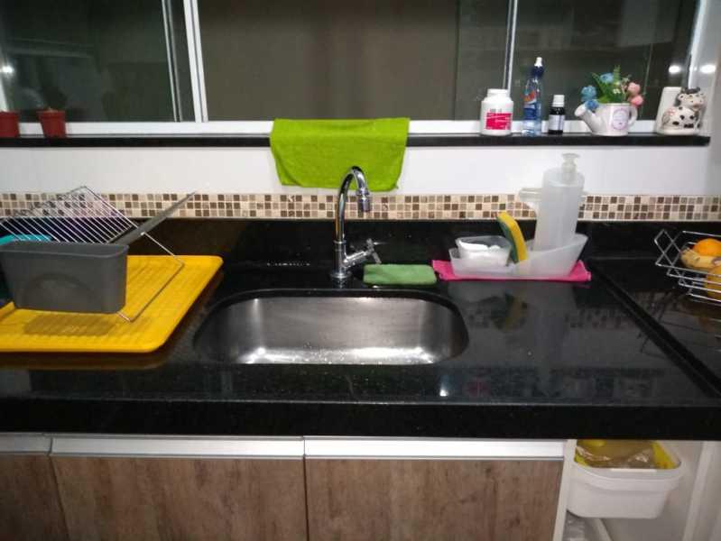 9 - cozinha piso 1. - Apartamento À Venda - Piedade - Rio de Janeiro - RJ - MEAP40019 - 10