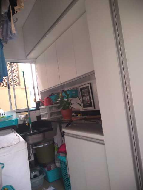 13 - área de serviço piso 1. - Apartamento À Venda - Piedade - Rio de Janeiro - RJ - MEAP40019 - 14