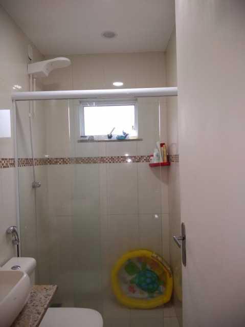 21 - banheiro social piso 2. - Apartamento À Venda - Piedade - Rio de Janeiro - RJ - MEAP40019 - 22
