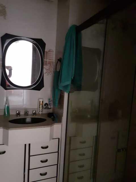 banheiro 1. - Apartamento 1 quarto à venda Méier, Rio de Janeiro - R$ 270.000 - MEAP10153 - 11