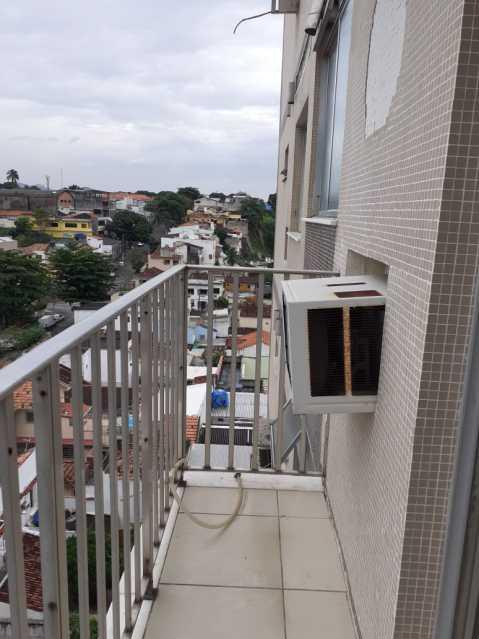 varanda 1. - Apartamento 1 quarto à venda Méier, Rio de Janeiro - R$ 270.000 - MEAP10153 - 3