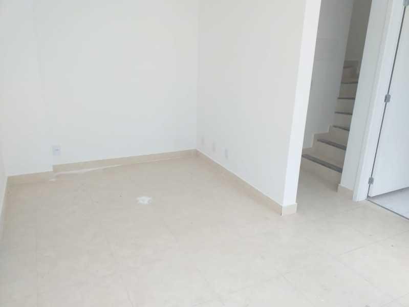 2 - SALA 1º PISO. - Casa em Condominio À Venda - Riachuelo - Rio de Janeiro - RJ - MECN20025 - 3