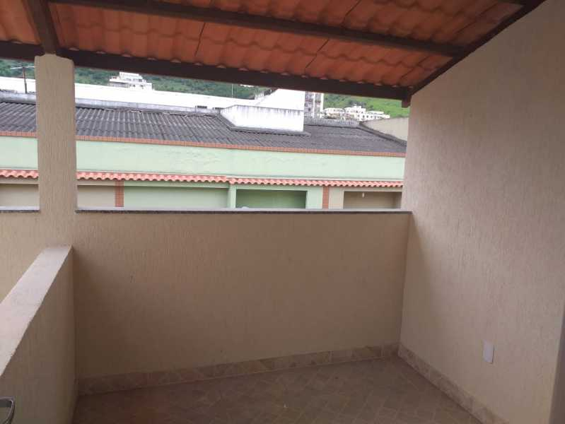 18 - TERRAÇO 3º PISO. - Casa em Condominio À Venda - Riachuelo - Rio de Janeiro - RJ - MECN20025 - 19
