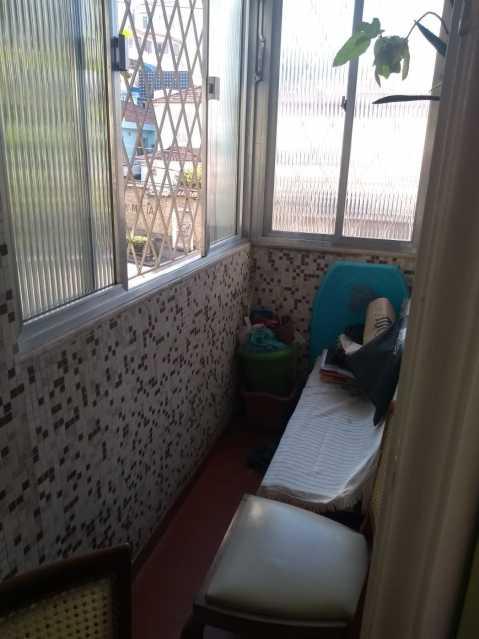 3 - VARANDA INTERNA - Apartamento Vila Isabel, Rio de Janeiro, RJ À Venda, 2 Quartos, 60m² - MEAP21031 - 4