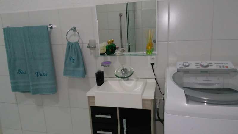 11 - BANHEIRO SOCIAL. - Apartamento 1 quarto à venda Água Santa, Rio de Janeiro - R$ 160.000 - MEAP10155 - 12