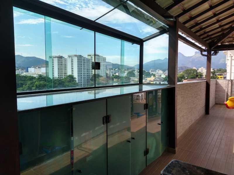 20 - Cobertura 2 quartos à venda Taquara, Rio de Janeiro - R$ 390.000 - FRCO20060 - 21