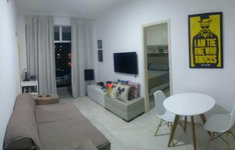 1 - SALA. - Apartamento 1 quarto à venda Riachuelo, Rio de Janeiro - R$ 200.000 - MEAP10157 - 1