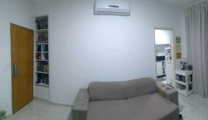 2 - SALA. - Apartamento 1 quarto à venda Riachuelo, Rio de Janeiro - R$ 200.000 - MEAP10157 - 3