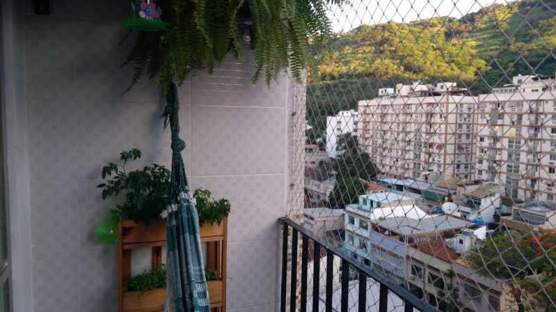 3 - VARANDA. - Apartamento 1 quarto à venda Riachuelo, Rio de Janeiro - R$ 200.000 - MEAP10157 - 4