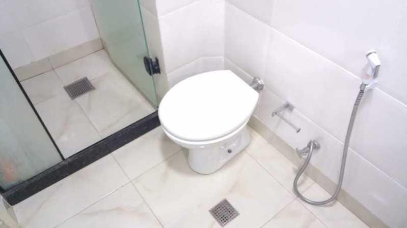 6 - BANHEIRO SOCIAL. - Apartamento 1 quarto à venda Riachuelo, Rio de Janeiro - R$ 200.000 - MEAP10157 - 7