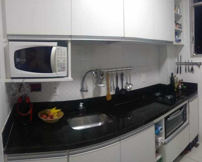 8 - COZINHA. - Apartamento 1 quarto à venda Riachuelo, Rio de Janeiro - R$ 200.000 - MEAP10157 - 9