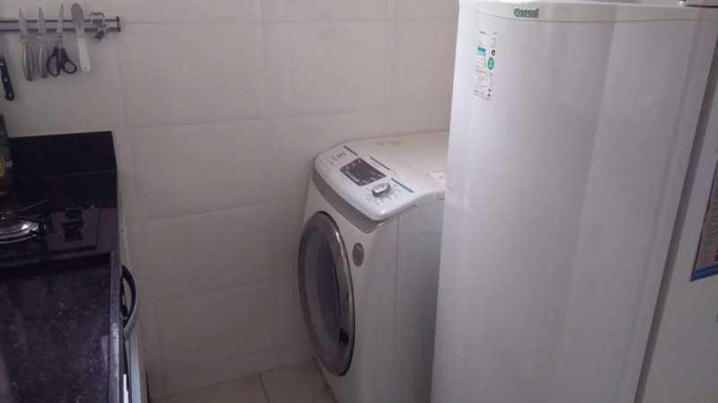 9 - ÁREA DE SERVIÇO. - Apartamento 1 quarto à venda Riachuelo, Rio de Janeiro - R$ 200.000 - MEAP10157 - 10