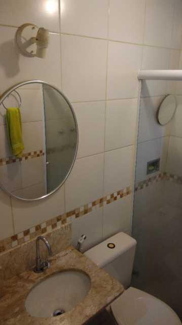 7 - BANHEIRO SOCIAL - Apartamento 2 quartos à venda Engenho Novo, Rio de Janeiro - R$ 205.000 - MEAP21105 - 8