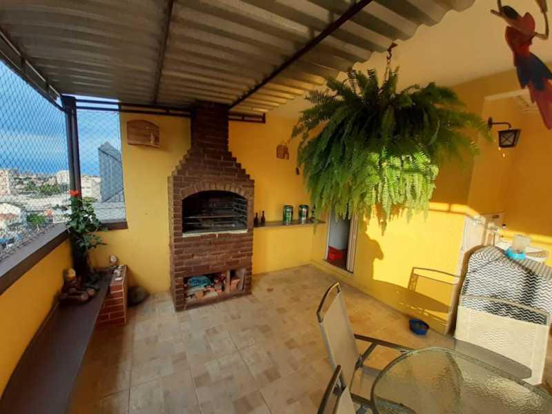 12 - Cobertura 3 quartos à venda Cachambi, Rio de Janeiro - R$ 520.000 - MECO30038 - 1