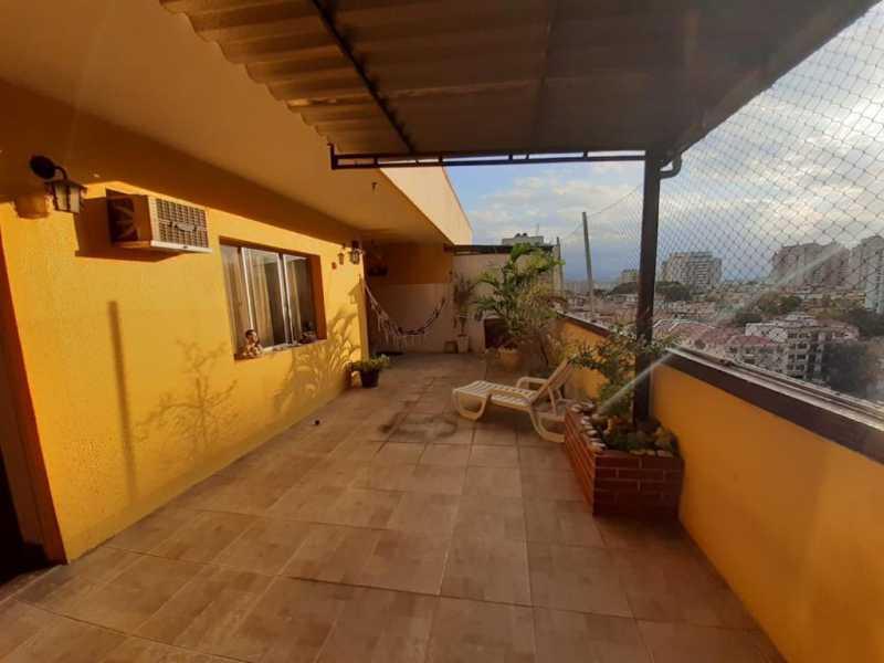 21 - Cobertura 3 quartos à venda Cachambi, Rio de Janeiro - R$ 520.000 - MECO30038 - 22