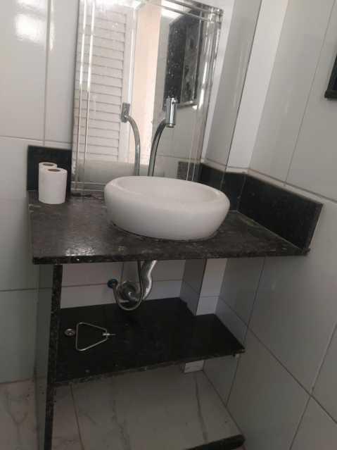 6 - BANHEIRO SOCIAL. - Apartamento 2 quartos à venda Higienópolis, Rio de Janeiro - R$ 188.000 - MEAP21111 - 7