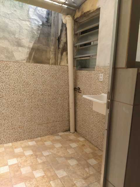 8 - ÁREA DE SERVIÇO. - Apartamento 2 quartos à venda Higienópolis, Rio de Janeiro - R$ 188.000 - MEAP21111 - 9