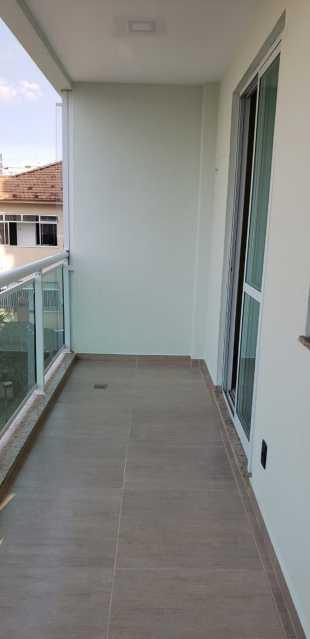 1 - VARANDA SALA - Apartamento 3 quartos à venda Cachambi, Rio de Janeiro - R$ 455.000 - MEAP30361 - 1