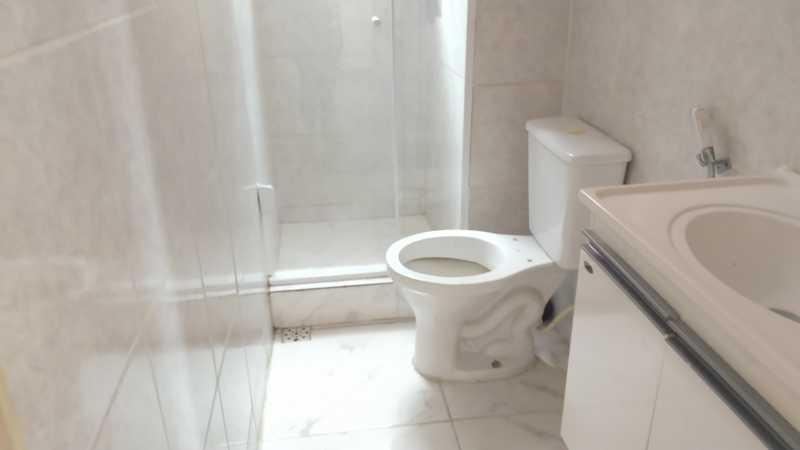 13 - BANHEIRO SOCIAL - Apartamento 2 quartos à venda Taquara, Rio de Janeiro - R$ 170.000 - FRAP21667 - 15