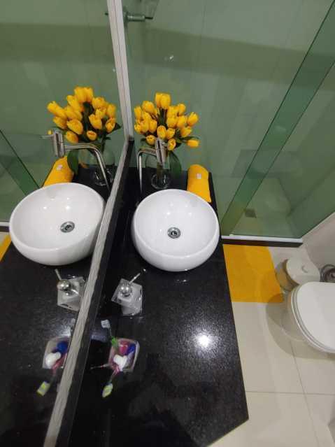 8 - BANHEIRO SOCIAL - Apartamento 2 quartos à venda São Francisco Xavier, Rio de Janeiro - R$ 263.000 - MEAP21159 - 9