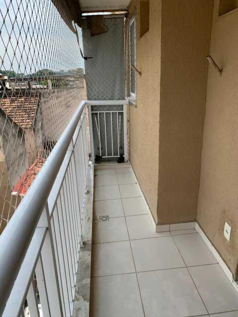 1 - VARANDA. - Apartamento 2 quartos à venda Engenho Novo, Rio de Janeiro - R$ 223.000 - MEAP21171 - 3