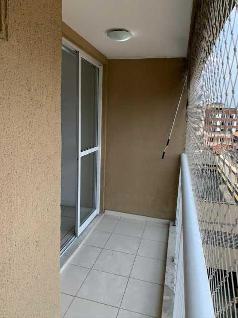 2 - VARANDA. - Apartamento 2 quartos à venda Engenho Novo, Rio de Janeiro - R$ 223.000 - MEAP21171 - 4