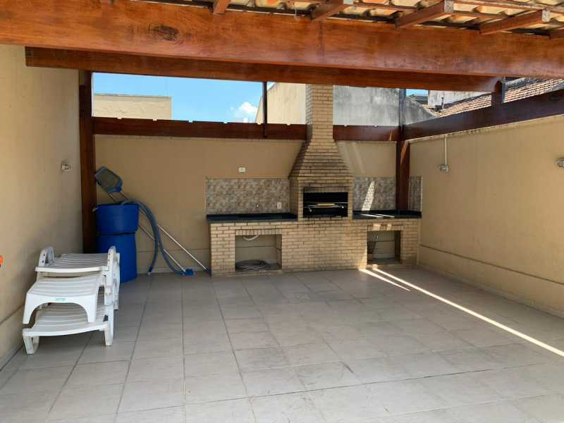 17 - CHURRASQUEIRA. - Apartamento 2 quartos à venda Engenho Novo, Rio de Janeiro - R$ 223.000 - MEAP21171 - 18