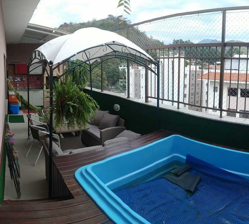 26 - Cobertura 3 quartos à venda Taquara, Rio de Janeiro - R$ 650.000 - FRCO30184 - 23